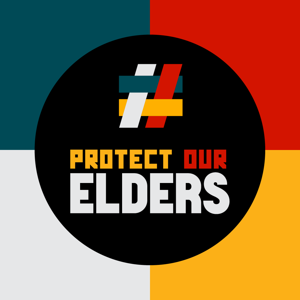 Protect Our Elders Social Avatar Brand